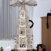 Laubsägearbeit filigrane Weihnachtspyramide