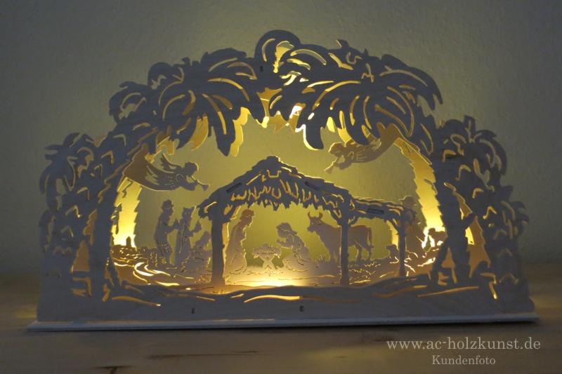 3D Lichterbogen Heilige Familie
