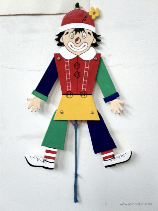 Vorlage Hampelmann Clown