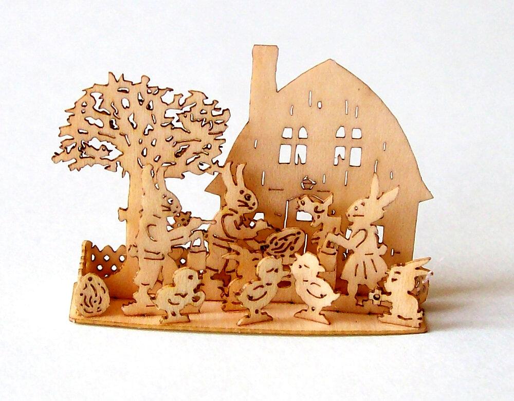 Laubsägevorlagen Ostern Frühling Hase Osterei Ac Holzkunst